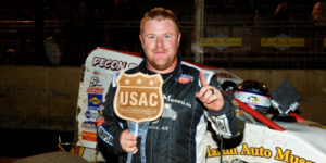 RJ Johnson Jets to USAC/CRA Win at Perris