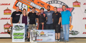 Shaffer Opens Ohio Sprint Speedweek with Eldora Triumph