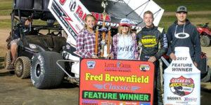 Covington Captures Brownfield Classic Prelim Win