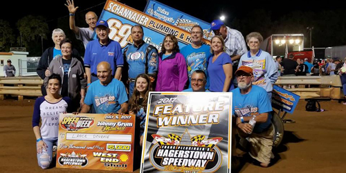 Dewease Tops Central PA Round at Hagerstown