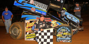 Forsythe Flies to Lincoln Victory Lane