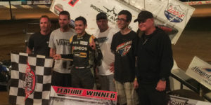 Larson Lands First Central PA Laurels
