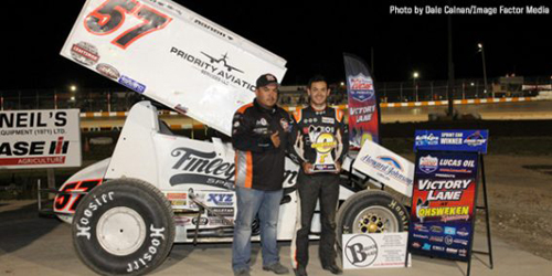 Larson Lands Summer Nationals Win at Ohsweken