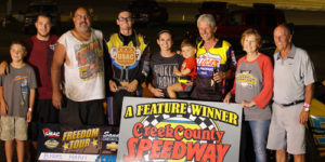 Hahn Captures Freedom Tour Win at Creek County