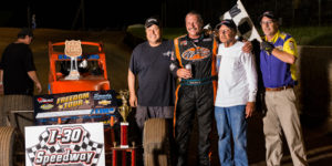 Charles Davis, Jr. Charges to Freedom Tour Opening Night Win at I-30 Speedway