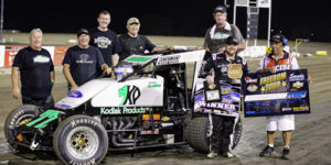 R.J. Johnson Jets to Freedom Tour Victory at 81 Speedway