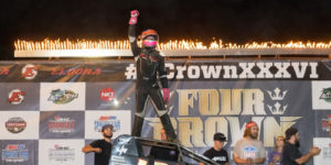 Leary Takes Four Crown Sprint Win