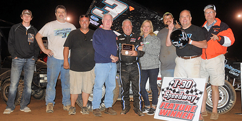 Sammy Swindell Stops Nightmare at I-30