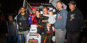 Bergman Best in ASCS Season Finale