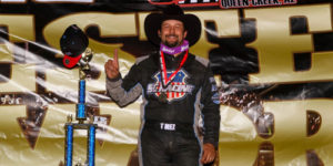 T-Mez Cowboys Up for Western World Prelim Win