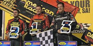 Madsen Wins Thrilling World Series Sprintcar Opener