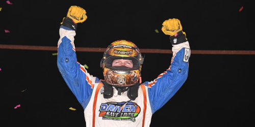 Courtney Gets Second in a Row in Winter Dirt Games