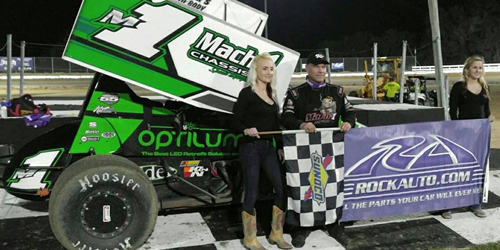 Mark Smith Sails in USCS Opener