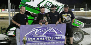 Mark Smith Completes USCS Weekend Sweep