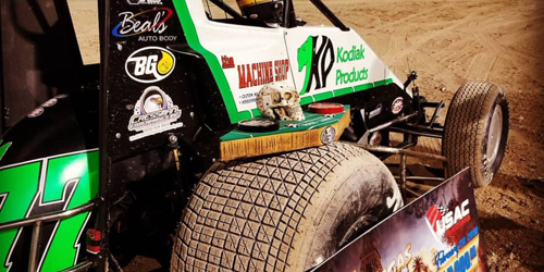 Grant Garners Vegas Showdown USAC Night One Honors