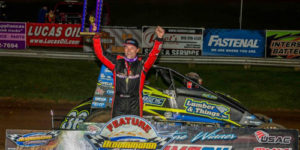 Make it 60 USAC Sprint Car Wins for Darland after Bloomington Triumph