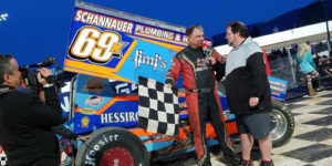 Dewease Sets the Pace in Port Opener