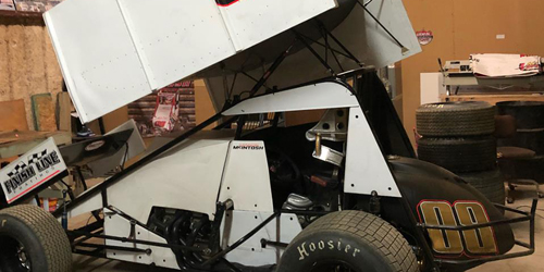 McIntosh Makes Sprint Car Debut Friday at Creek County