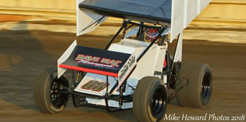 Midgets for McIntosh this Weekend after Top Ten in Sprint Car Debut