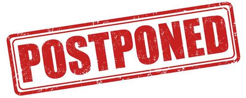 Gloomy Weather Outlook Postpones STN to October 21-23