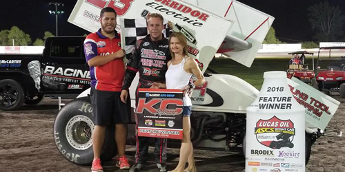 Bergman Bests ASCS at Lakeside