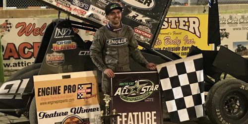 Cale Thomas Tops Attica for First Career All Star Triumph