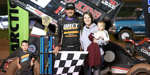 Reutzel Gets First All Star Win at Sharon's Buckeye Cup