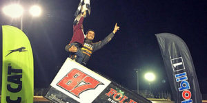Outlaw Triple for Reutzel after Racking Up First All Star Win