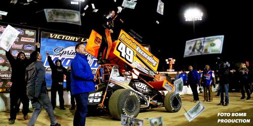 Shaffer Banks $100K in Sprint Car World Championship