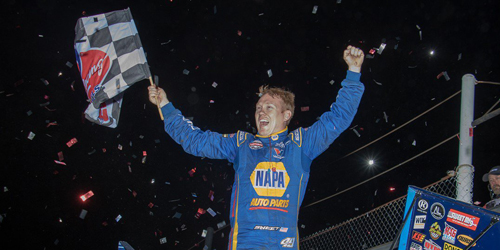 Sweet Scores First Outlaw Win of the Year at Salina