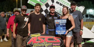 Bellm Back in Victory Lane with Double X Score