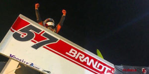 Larson Rebounds for All Star Win at Eldora