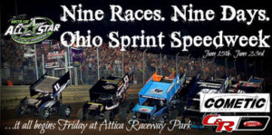 Nine in Nine – It's Time for Ohio Sprint Speedweek