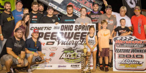 Reutzel Rules Ohio Sprint Speedweek Round Three at Waynesfield