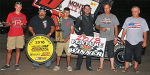 Richardson Reels in DCRP Sprint Car Nationals Prelim Win
