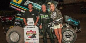Swindell Scores Speedweek Honors at Amarillo