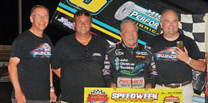 Sammy Sails to Speedweek Win at Creek County