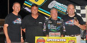 Sammy Sails to Speedweek Win at Creek County