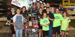 Schatz Right at Home in North Dakota with Grand Forks Win