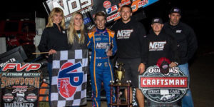 Sheldon Haudenschild Wins Inaugural WoO Event at Fairbury
