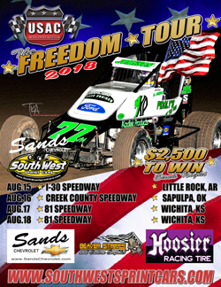 USAC Southwest Freedom Tour Just Three Weeks Away