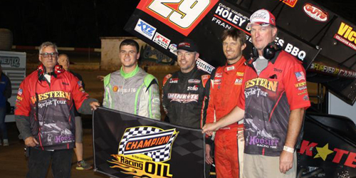 Croft Conquers in Speedweek Northwest Opener