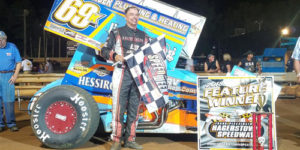 Dewease Tops Grum Memorial at Hagerstown