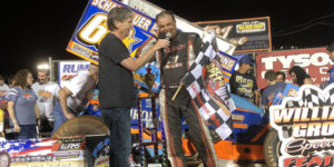 Dewease Hangs on for $12K in PA Speedweek Round Eight at the Grove