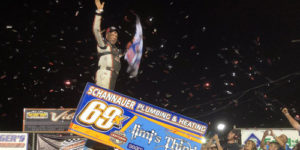 Dewease Makes Grove History with World of Outlaws Triumph
