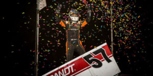 Larson Lands in PA Speedweek Grandview Victory Lane