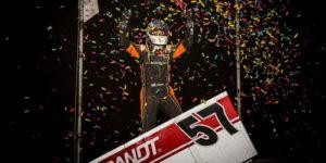 Larson Lands in PA Speedweek Grandview Victory Lane