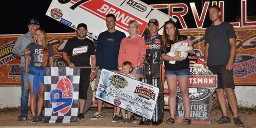 Larson Dominates Silver Cup for $25K