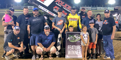 Reutzel Reels in Erie All Star Win