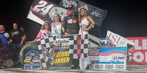 Wolfe Pounces for PA Speedweek Win at Port Royal